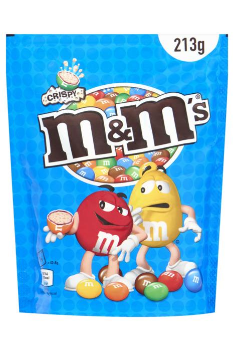 M&M'S Pouch crispy (213g)