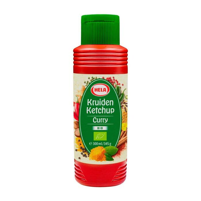 Curry ketchup bio (30cl)