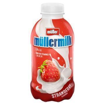 Müllermilk Aardbei 378 ml (37.9cl)