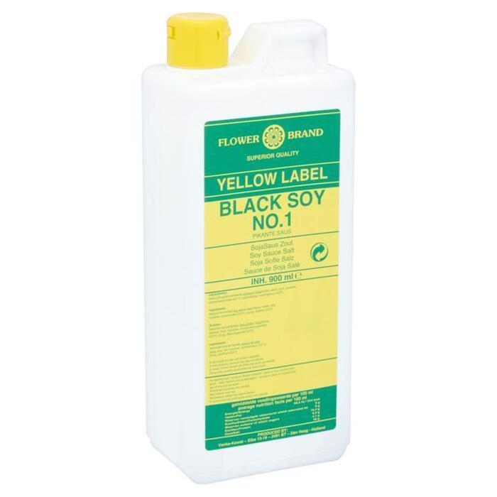 Flower Brand Yellow Label Black Soy No.1 Pikante Saus 900ml (0.9L)