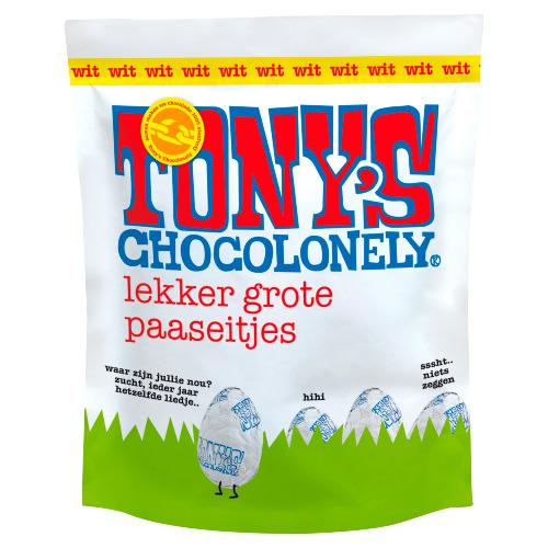 Tony's Chocolonely Eitjes zakje wit (180g)