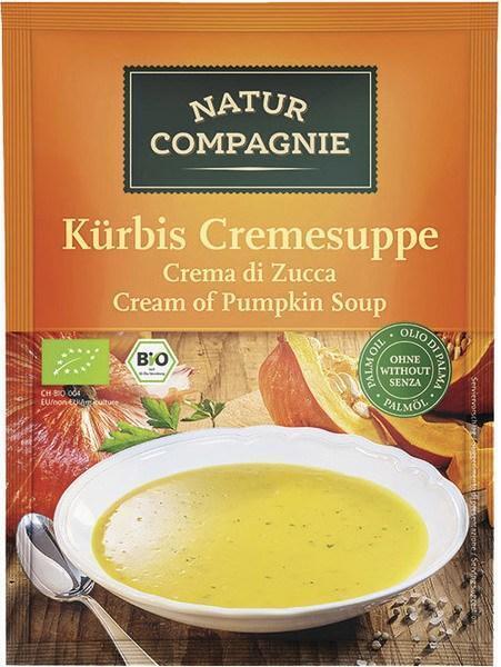 Pompoencrèmesoep 2-kops instant (40g)