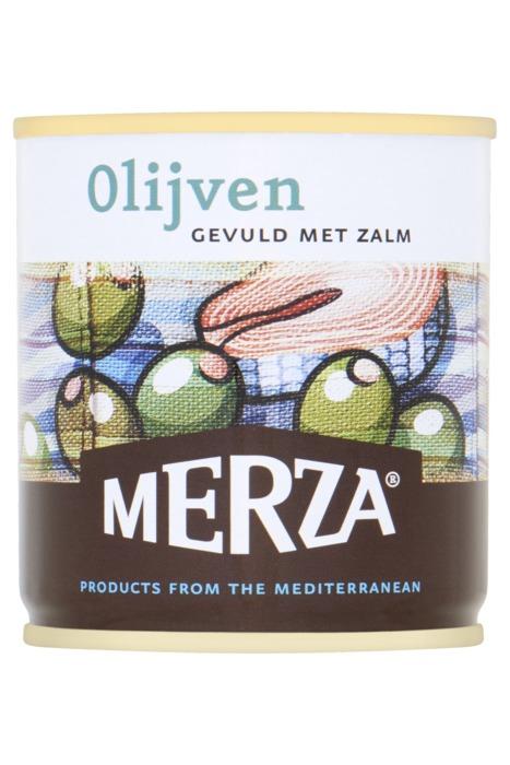 Merza olijven zalm 200g (200g)
