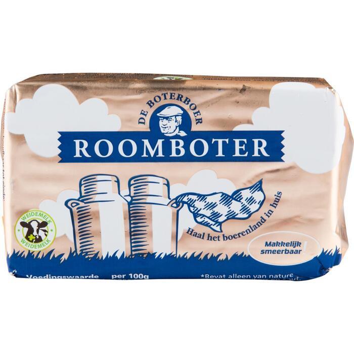 Roomboter goudwikkel ongezouten (250g)