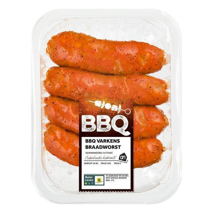 AH BBQ grill worst (4 × 459g)