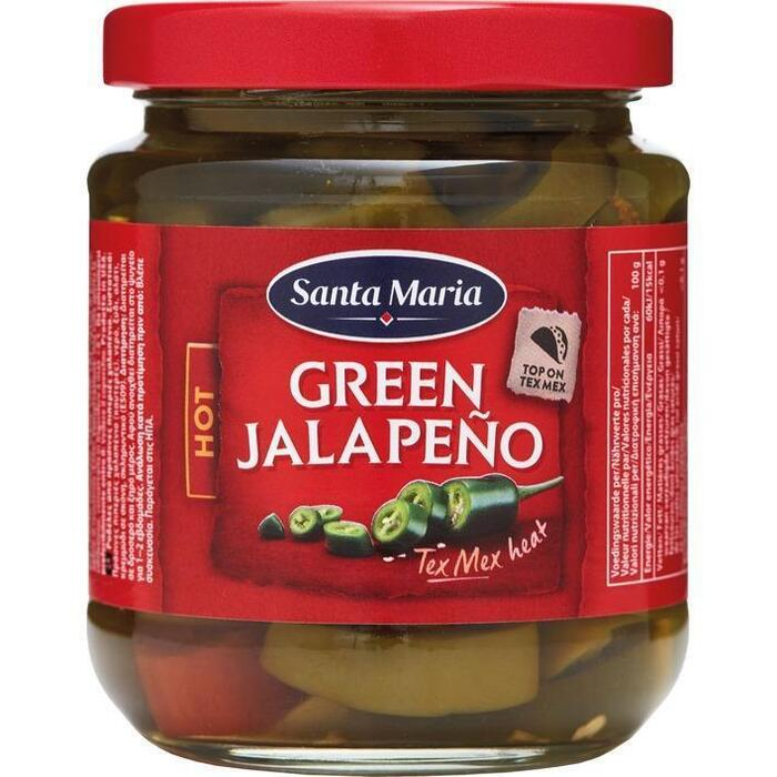 Santa Maria Green Jalapeno hot (215g)
