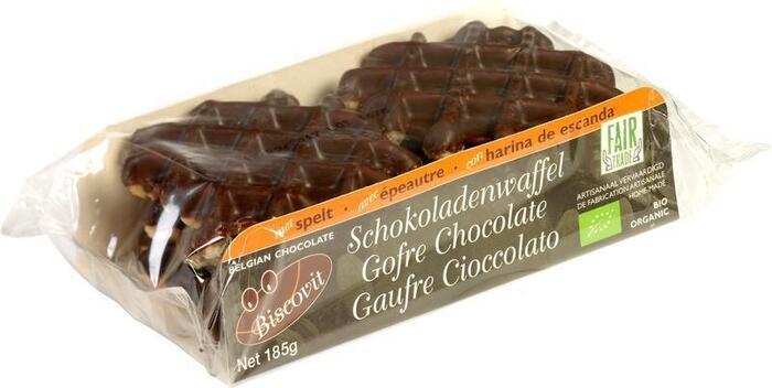 Speltwafel chocolade (185g)