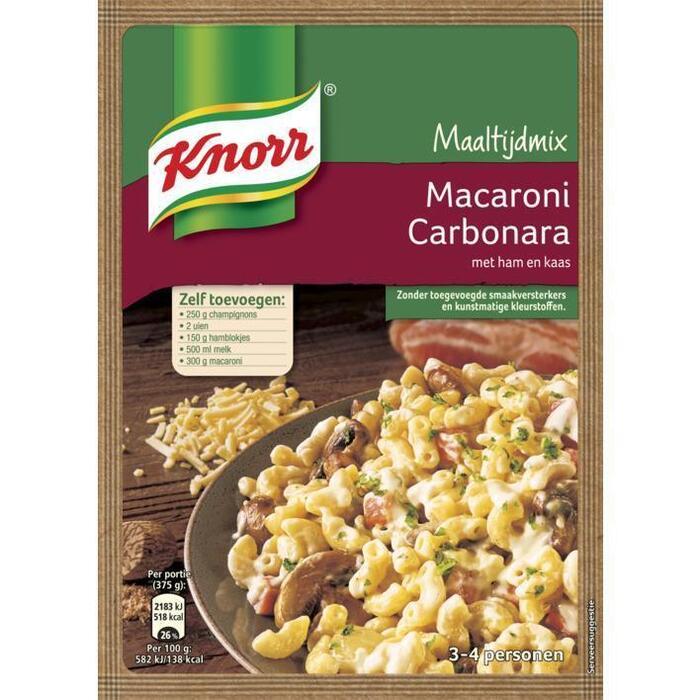 Knorr Mix macaroni carbonara (62g)