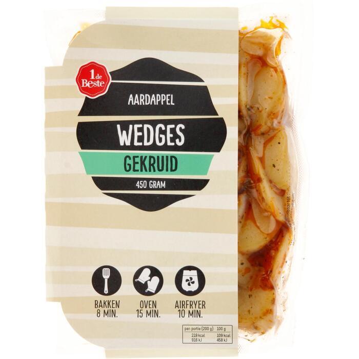Aardappel wegdes gekruid (450g)