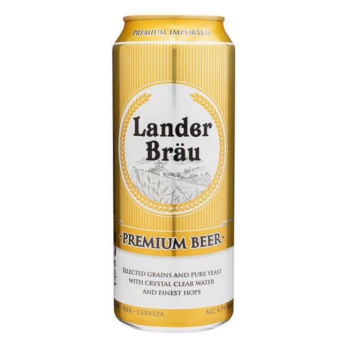 Lander Bräu Premium Beer (blik, 0.5L)