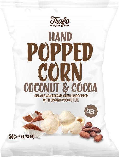 Handpopped corn coconut & cocoa (50g)