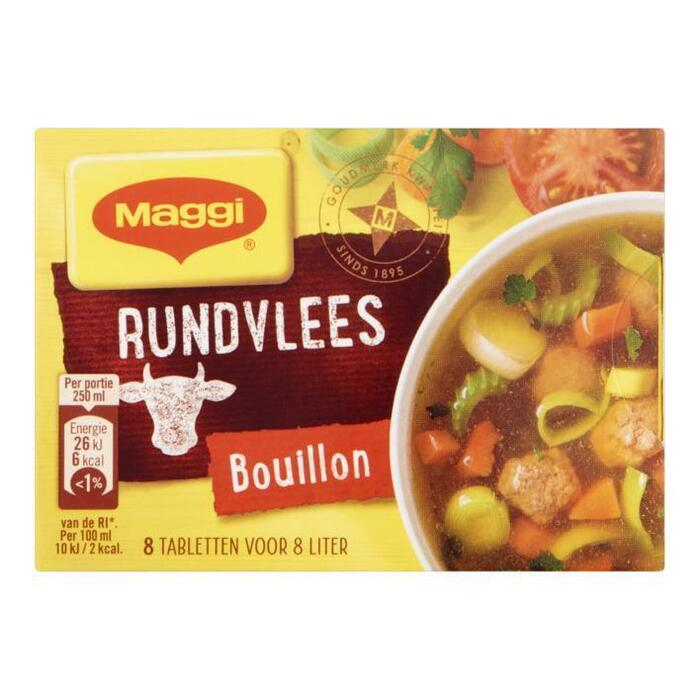 Maggi Rundvlees Bouillon Tabletten 8 Stuks 82 g (8 × 82g)