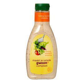 g'woon Dressing Honing Mosterd 450 ml (45cl)