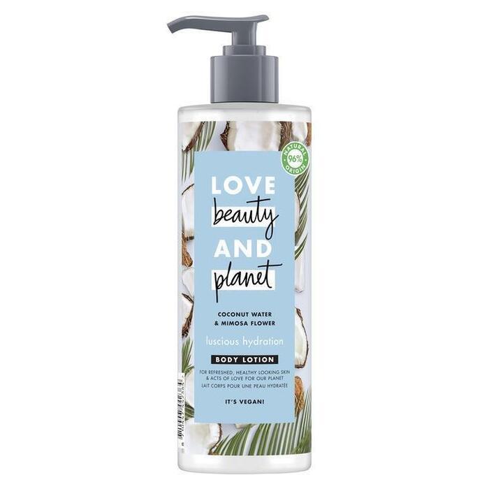 Love Beauty Planet Coconut water & mimosa flower bodylotion (40cl)