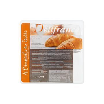 Delifrance Croissants Au Beurre 4 Stuks 180 g (4 × 45g)