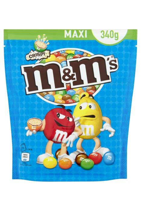 M&M'S Pouch crispy (374g)