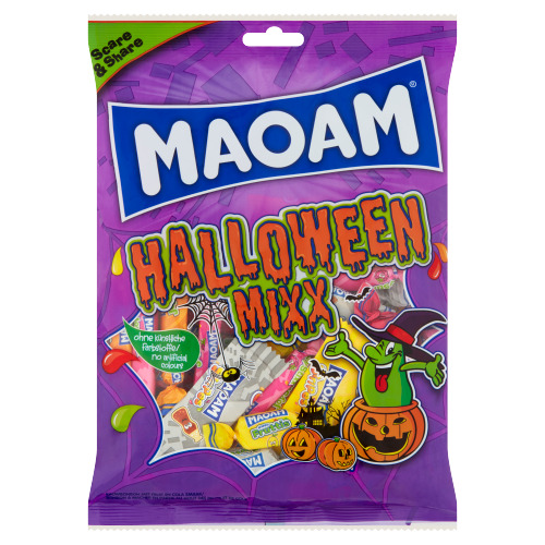 Maoam Maoam Halloween Mix 375 g Halloween Mix 375 g Rek (375g)