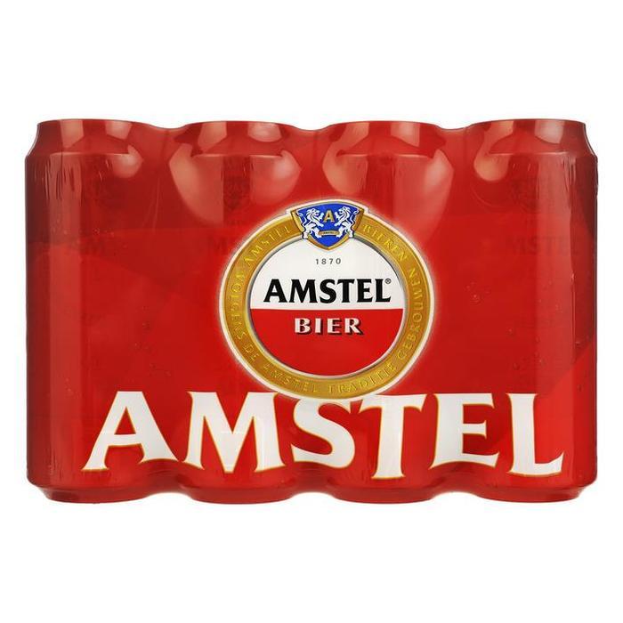 AMSTEL PILSENER 50 CL 12 BLIK (rol, 12 × 0.5L)