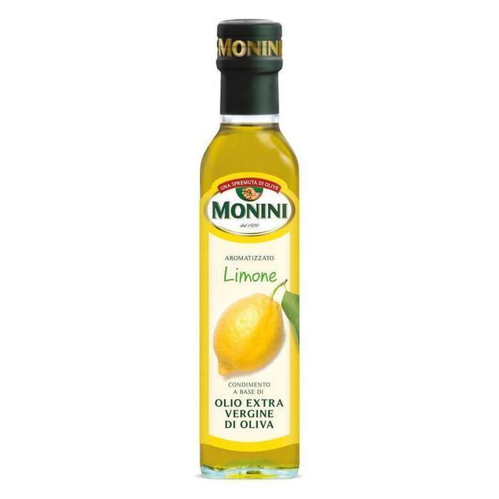 Extra Vierge olijfolie met citroenaroma (glazen fles, 250ml)