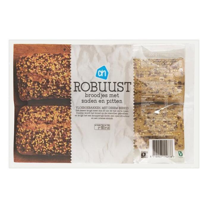 AH Robuust broodje met zaden en pitten