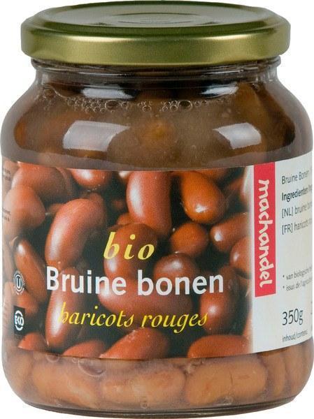 Bio Bruine Bonen (pot, 0.72L)