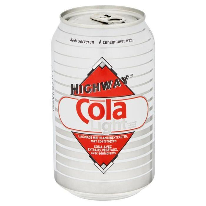 Highway Cola Light Suikervrij 0, 33L (33cl)