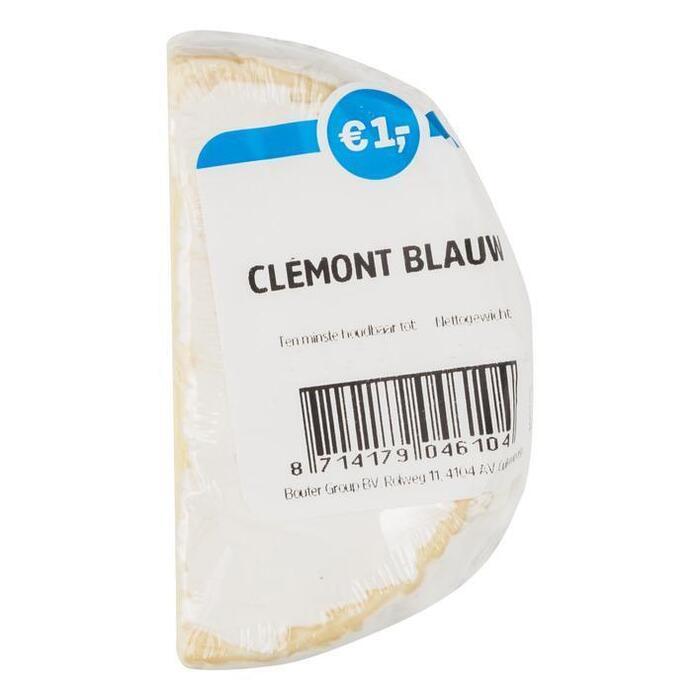 Kleintje clémont blauw 70+ (75g)