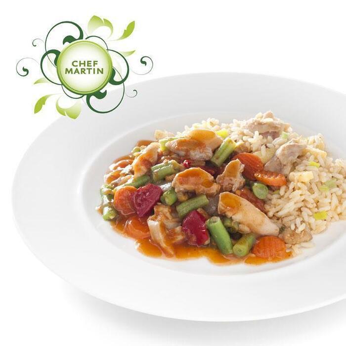 Chef Martin Chinese wokschotel groenten-kip (600g)