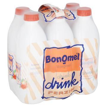 Bonomel Drink Perzik 6 x 1L (6 × 1kg)