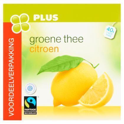 Groene thee citroen (80g)