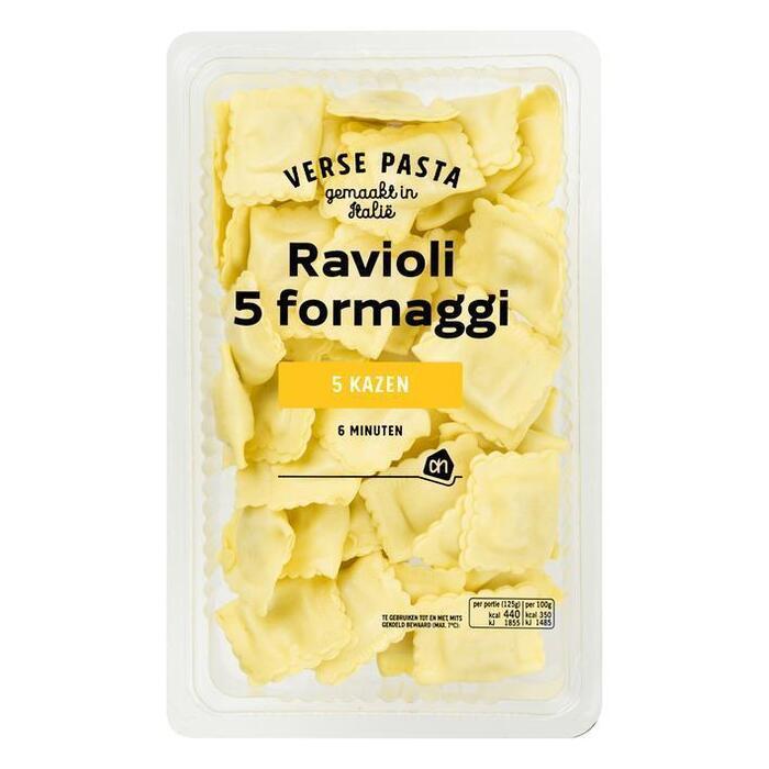AH Verse ravioli 5 formaggio (250g)