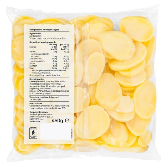 Jumbo Aardappelschijfjes 450 g (450g)