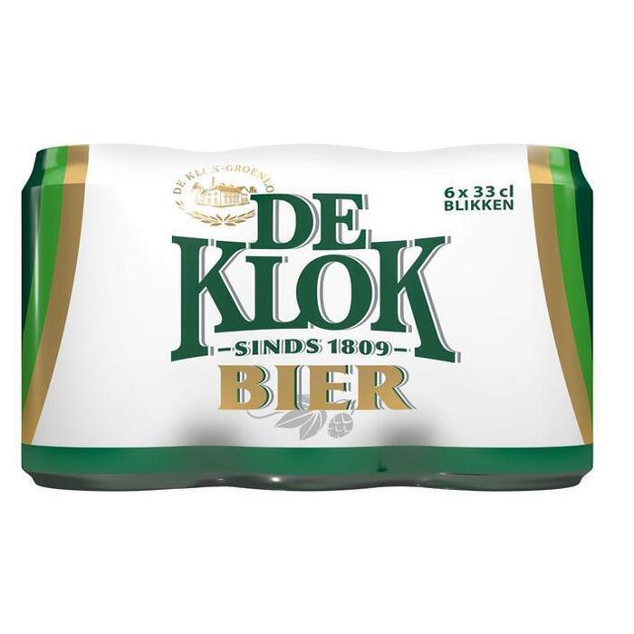 De Klok Bier Pilsener (rol, 6 × 33cl)