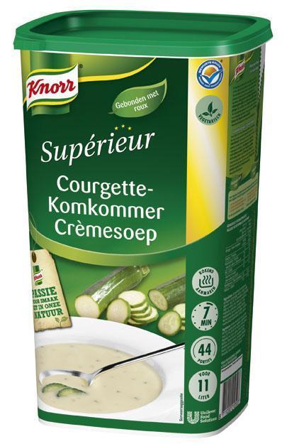 Knorr Sup Courgette-Komk soep 1.045kg 6x (6 × 1.04kg)