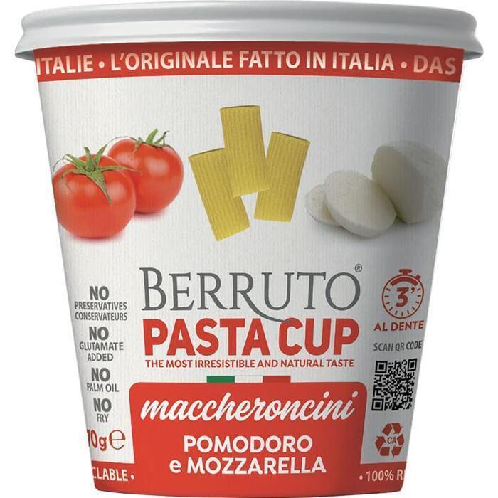 Berruto Pomodoro e mozzarella (70g)