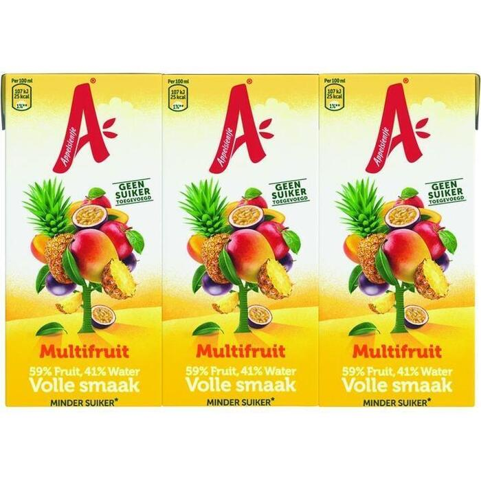 Appelsientje Multifruit Volle Smaak 6 x 200 ml (1.2L)