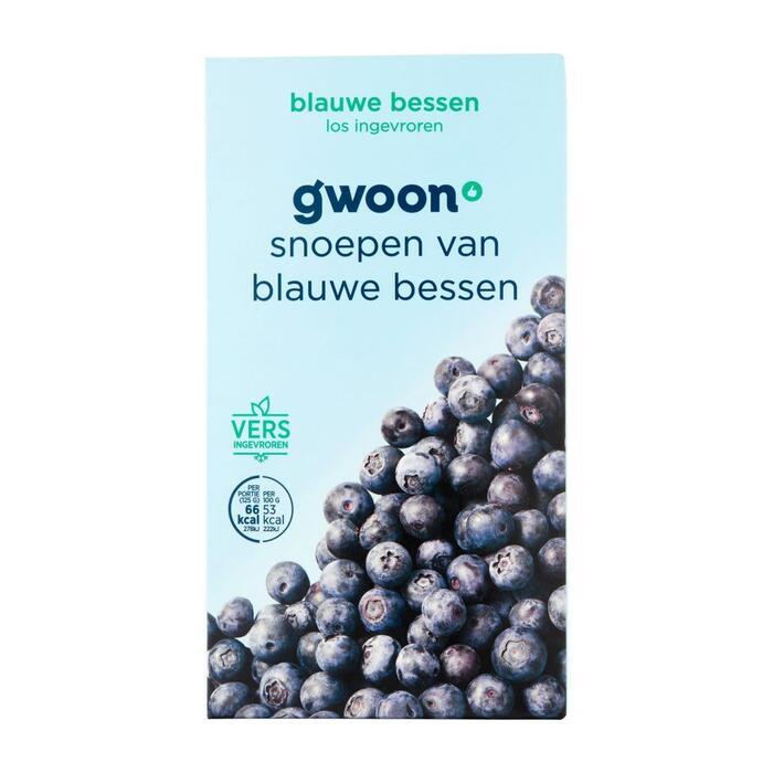 g'woon Blauwe bessen (250g)
