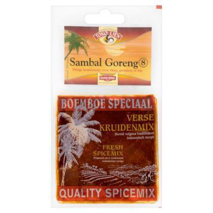 Kruidenmix voor Sambal Goreng (zak, 100g)