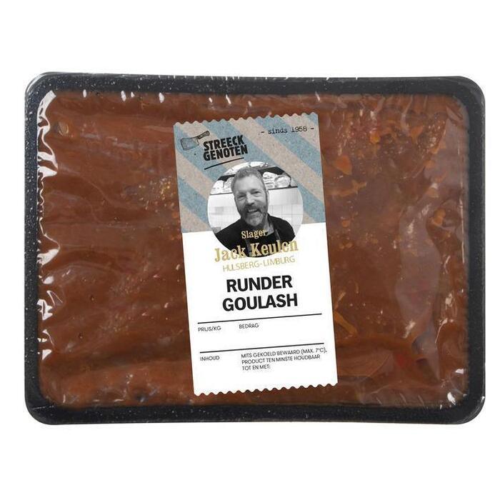 Streeckgenoten Runder goulash (500g)