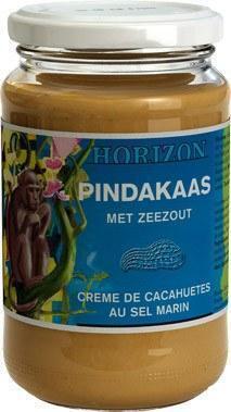 Pindakaas met zeezout (pot, 350g)