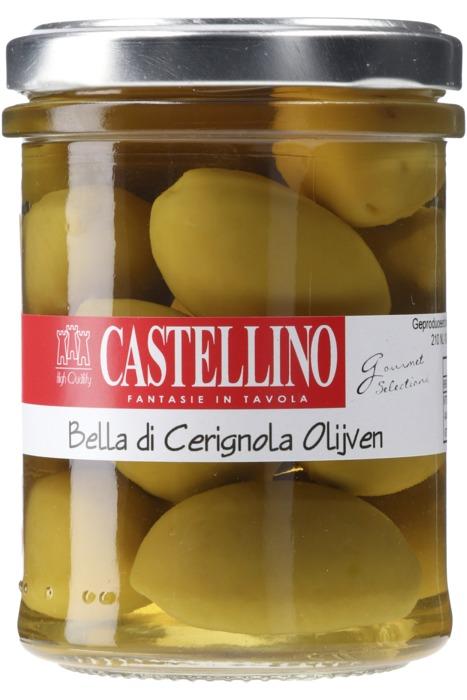 Castellino Bella di cerignola olijven (180g)