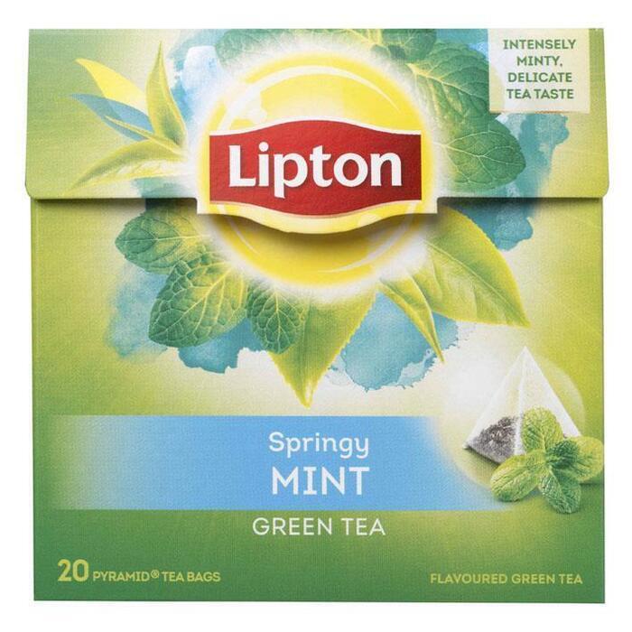 Groene Thee Intens mint (20 zakjes) (20 × 32g)