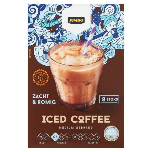 Jumbo Iced Coffee 8 Stuks 160 g (160g)