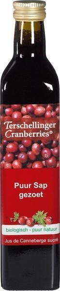 Cranberrysap (appel gezoet) (glas, 0.5L)