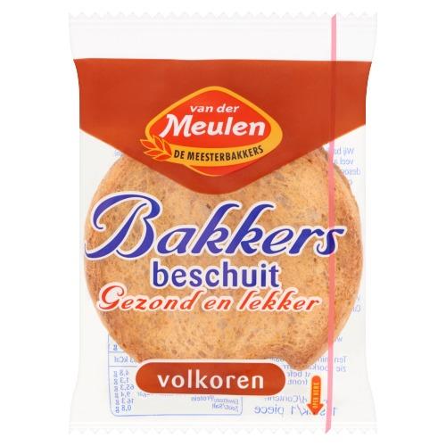 Van Der Meulen Bakkers Beschuit Volkoren (10.8g)