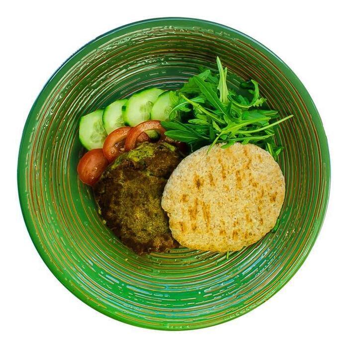 Chef Ali Verse Falafel met Volkoren Pitabroodjes en Frisse Yoghurt