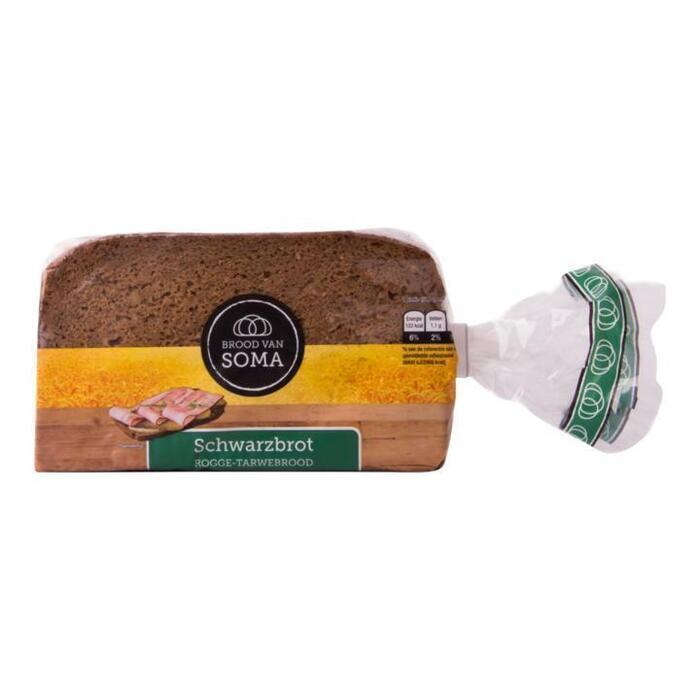 Schwarzbrot Roggebrood (zak, 400g)