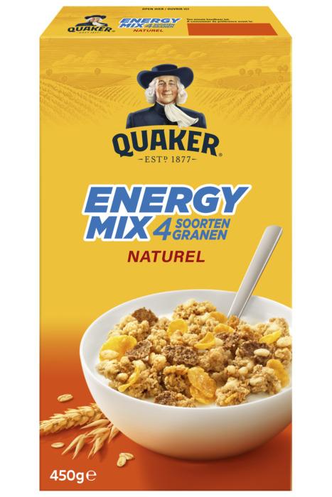 Cruesli Energy mix naturel (Stuk, 450g)