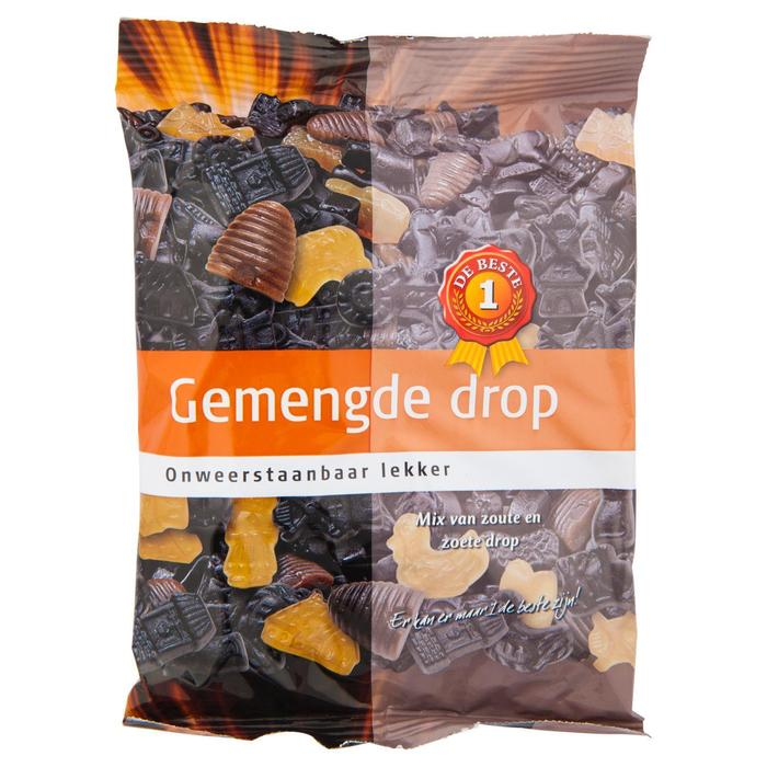 1 De Beste Gemengde Drop 400 gram (400g)
