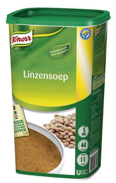 Knorr Linzensoep 1.21KG 6x (6 × 1.21kg)